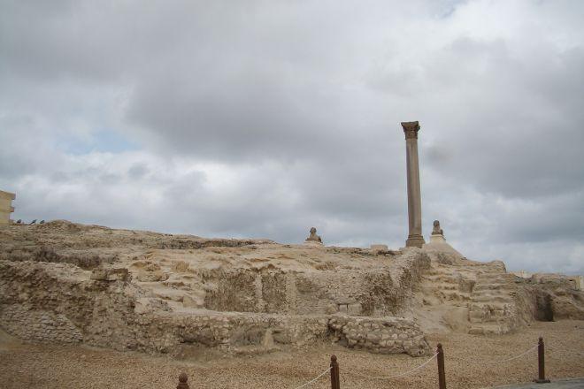 Sarapeum (Serapeion), Alexandria, Egypt
