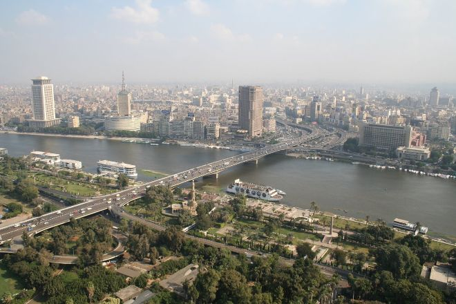 6th of October Bridge, Cairo, Egypt