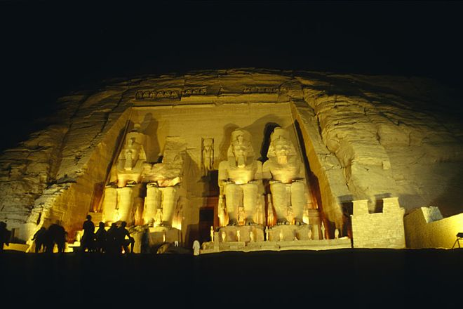Sound and Light Show - Abu Simbel, Abu Simbel, Egypt
