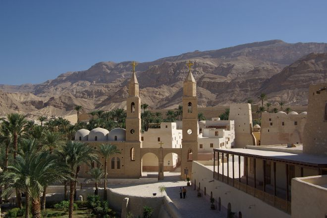 St. Anthony's Monastery (Deir Mar Antonios), Red Sea and Sinai, Egypt
