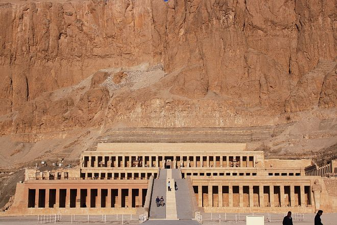 Temple of Hatshepsut at Deir el Bahari, Luxor, Egypt