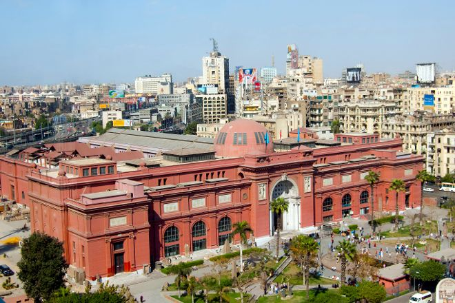 The Museum of Egyptian Antiquities, Cairo, Egypt