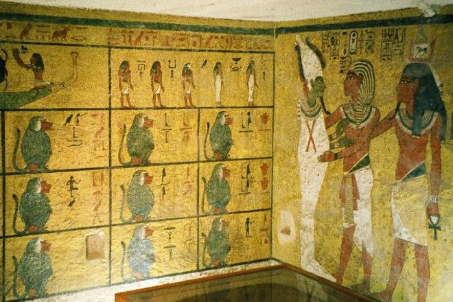Tomb of King Tutankhamun (Tut), Luxor, Egypt