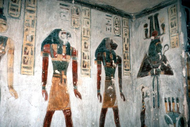 Tomb of Ramses III, Luxor, Egypt