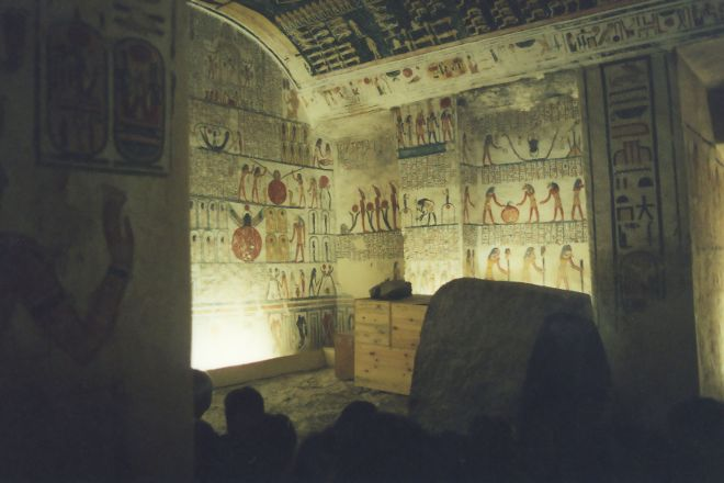 Tomb of Ramses VI, Luxor, Egypt