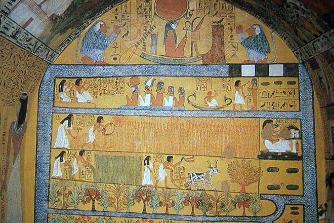 Tomb of Sennedjem, Luxor, Egypt
