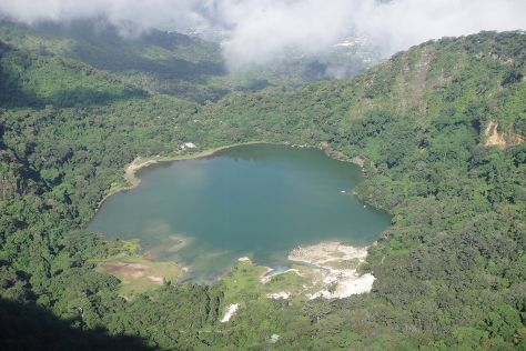 Lake of Alegria, Alegria, El Salvador