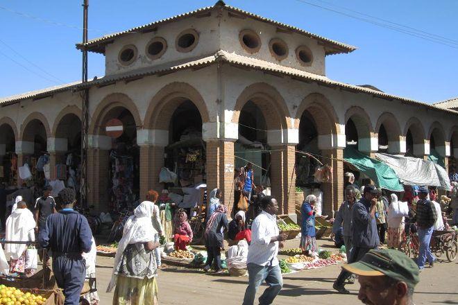 Asmara Central Market, Asmara, Eritrea