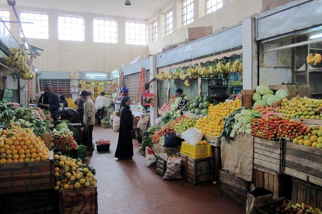 Grain and Vegetable Market, Asmara, Eritrea