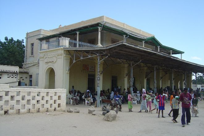 Old railway station, Massawa, Eritrea