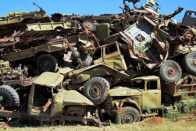 Tank Graveyard, Asmara, Eritrea