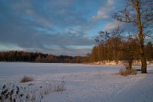 Lake Puhajarv Park, Otepaa, Estonia