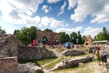 Ruins of the Viljandi Order Castle, Viljandi, Estonia