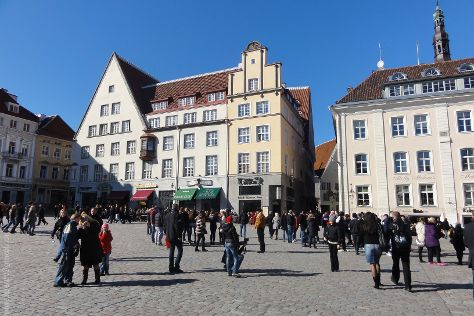 Tallinna Raekoja Plats, Tallinn, Estonia