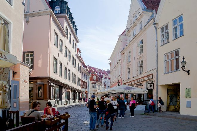 Long Street (Pikk tanav), Tallinn, Estonia