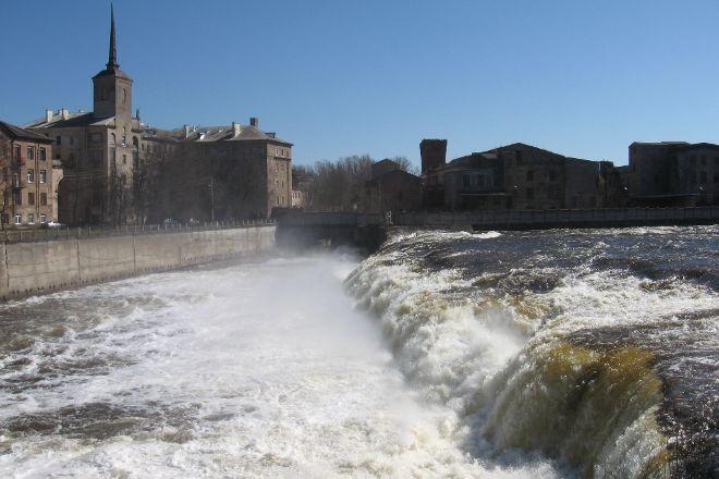 Narva Cascades, Narva, Estonia