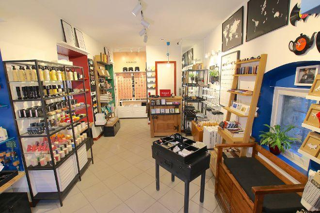 The Little Red House Design Store, Tallinn, Estonia