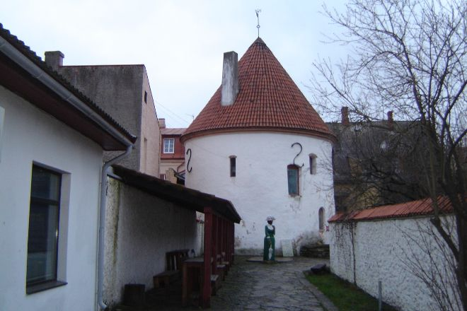 Red Tower, Parnu, Estonia