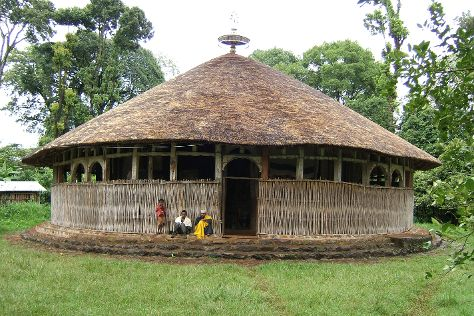 Azwa Mariam Monastery, Bahir Dar, Ethiopia