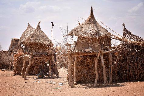 Dasenech Village, Turmi, Ethiopia