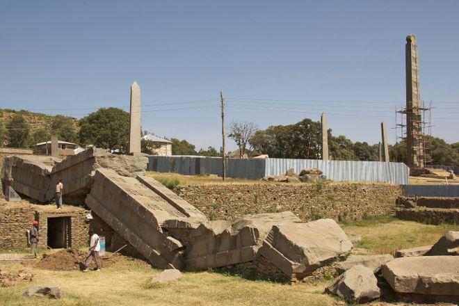 Ezana Park, Axum, Ethiopia