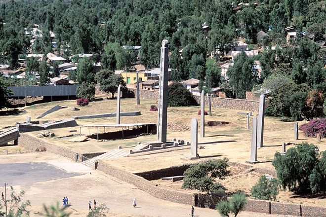 Northern Stelae Field, Axum, Ethiopia