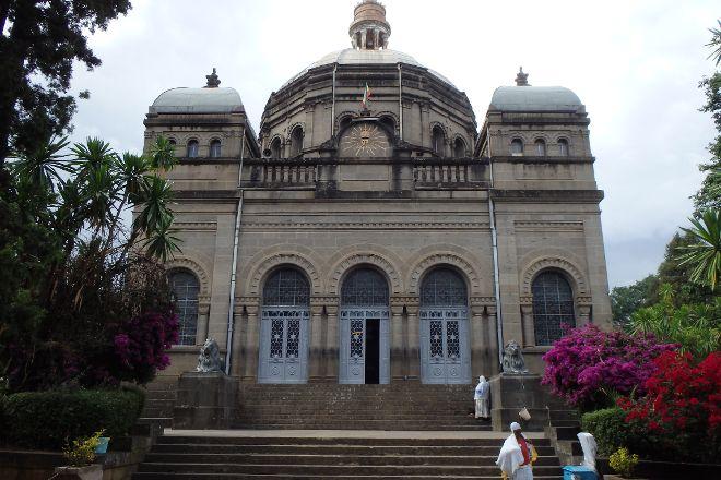 The Mausoleum of Menelik II, Addis Ababa, Ethiopia