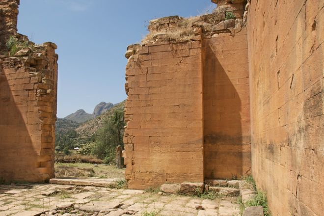 Yeha Archaeological Site, Tigray Region, Ethiopia