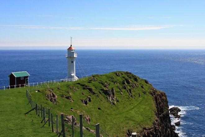Akraberg Lighthouse, Suduroy, Faroe Islands