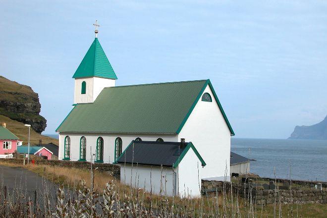 Gjaar Church, Gjogv, Faroe Islands