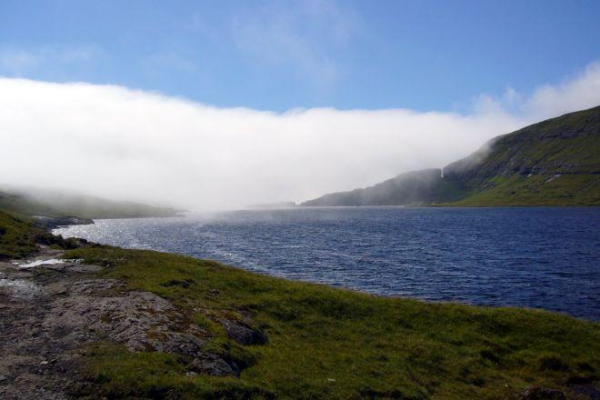 Lake Leitisvatn, Vagar Island, Faroe Islands