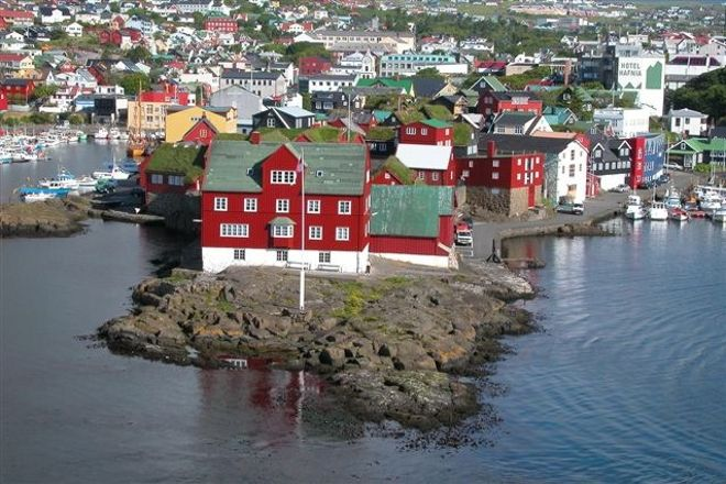 Tinganes, Torshavn, Faroe Islands