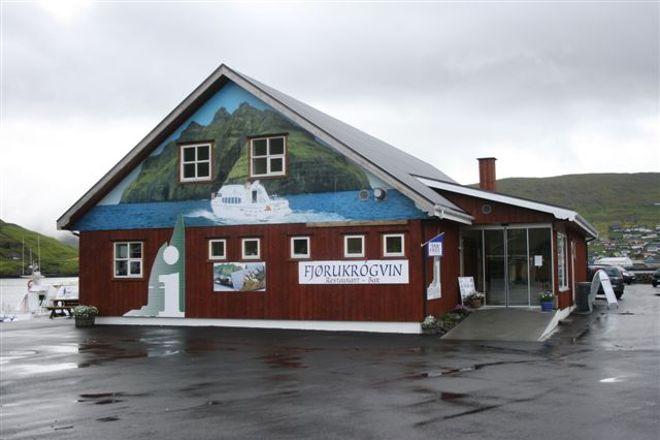 Vestmanna Tourist Centre, Vestmanna, Faroe Islands