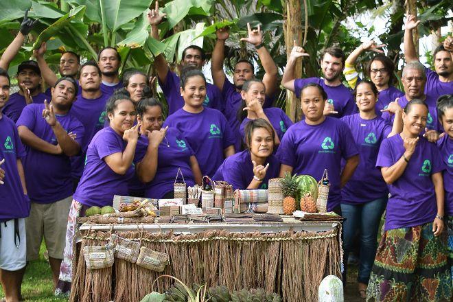Green Banana Paper Company, Kosrae, Federated States of Micronesia