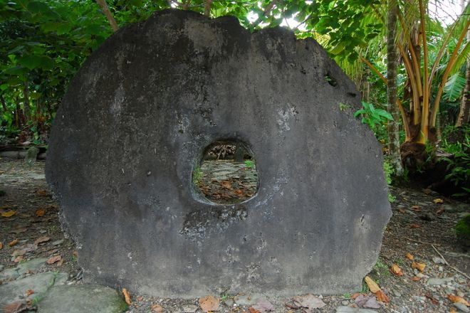 Stone Money, Yap, Federated States of Micronesia