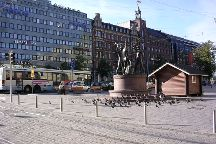The Three Smiths Statue, Helsinki, Finland