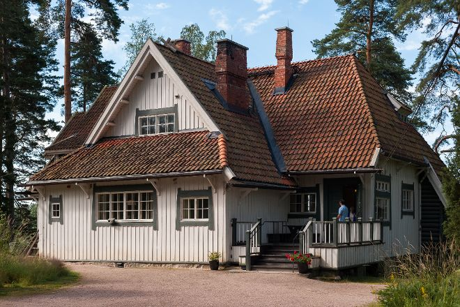 Ainola - The Home of Aino and Jean Sibelius, Jarvenpaa, Finland