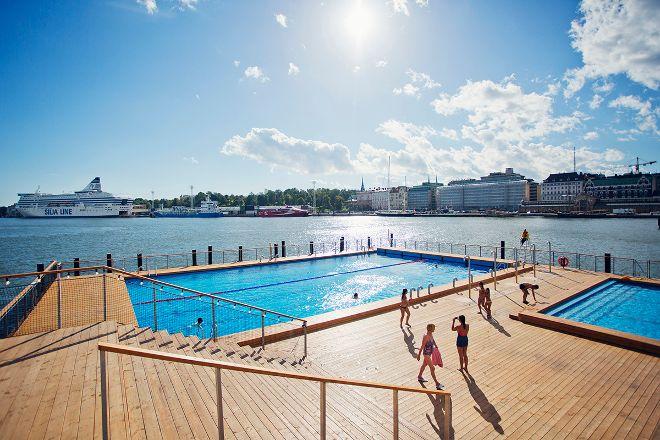 Allas Sea Pool, Helsinki, Finland