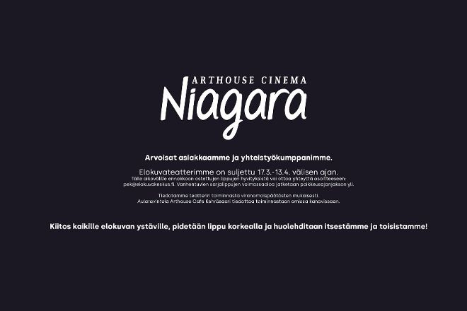 Arthouse Cinema Niagara, Tampere, Finland
