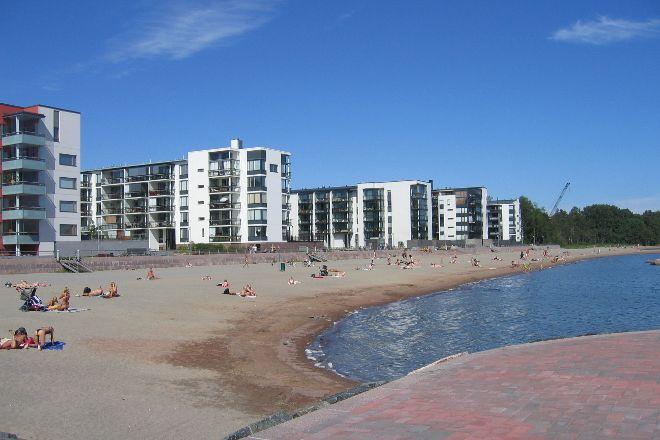 Aurinkolahti Beach, Helsinki, Finland