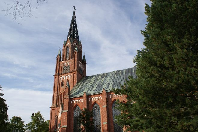 Central Pori Church (Keski-Porin kirkko), Pori, Finland