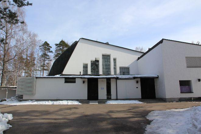 De tre korsens kyrka, Imatra, Finland