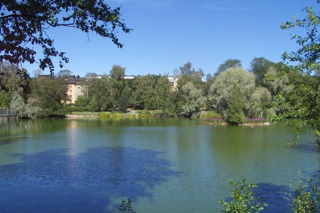 Duck Park (Sorsapuisto), Tampere, Finland