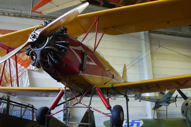 Finnish Air Force Museum, Jyvaskyla, Finland