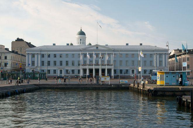 Helsinki City Hall (Kaupungintalo), Helsinki, Finland
