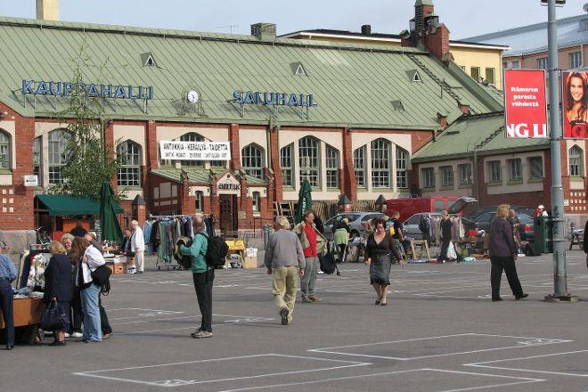 Hietalahti Market, Helsinki, Finland