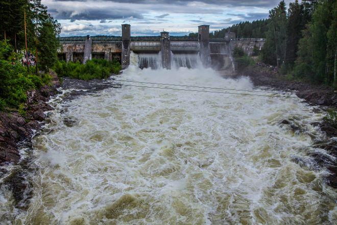 Imatra Waterfall, Imatra, Finland