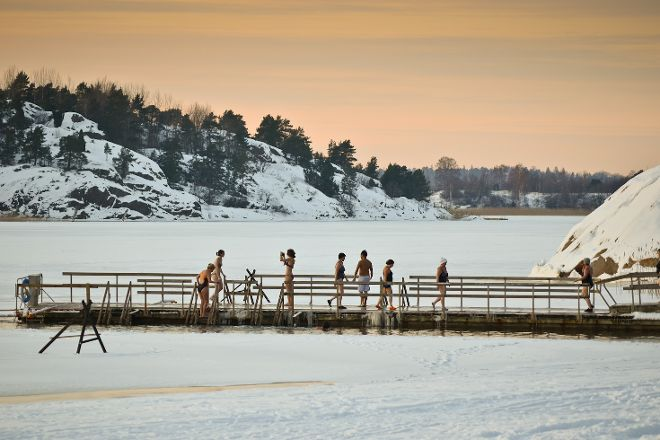 Ispoinen Beach and Sauna, Turku, Finland