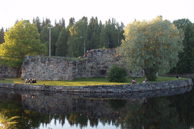 Kajaani Castle ruins, Kajaani, Finland