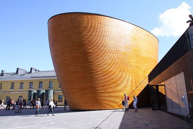 Kamppi Chapel of Silence, Helsinki, Finland